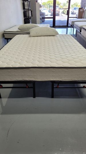 Brand New Firm Hybrid Mattress With Cooling Gel Memory Foam and Springs - Twin Full and Queen Bed In A Box 📦 for Sale in San Diego, CA