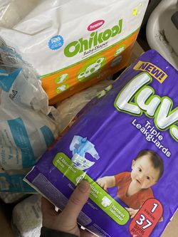 Over 1,000 Diapers Sizes N-2 for Sale in Portland,  OR