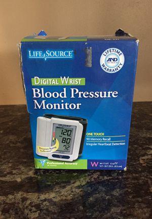 Life Source blood pressure digital wrist monitor for Sale in Ontario, CA