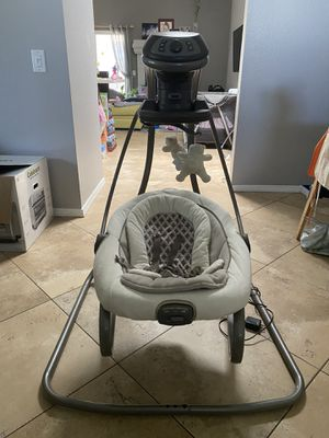 Very Lightly Used Graco Electric Baby Swing for Sale in San Diego, CA