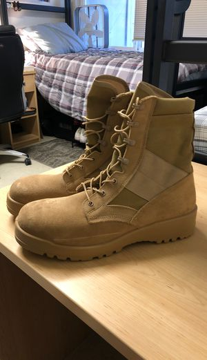 Tan Military Boots size 13 for Sale in Vallejo, CA