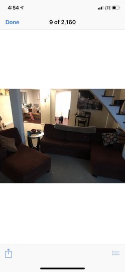 $100 couch or OBO Pick up tonight or tomorrow morning. for Sale in Winthrop,  MA