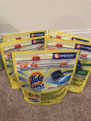 5 Tide Simply pods for Sale in Silver Spring, MD