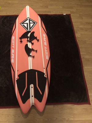 "5'2"" Scott Burke fishtail surfboard for Sale in Nederland, TX"