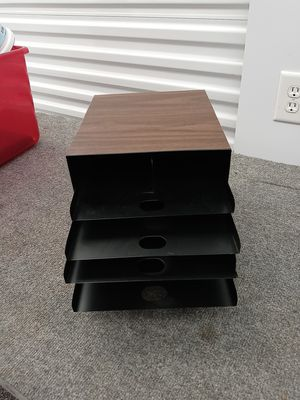 File tray for office for Sale in Houston, TX