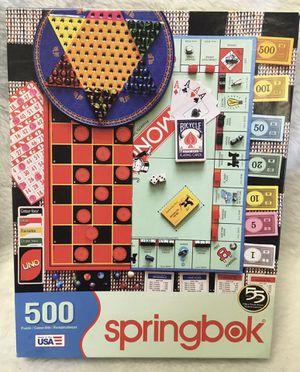 Springbok Board games 500 piece jigsaw puzzle for Sale in Riverside, IL