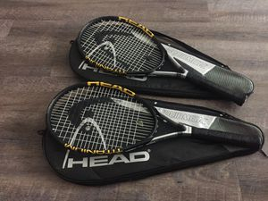 Two HEAD liquid metal tennis rackets for Sale in Delray Beach, FL