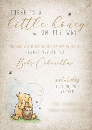 Winnie the Pooh Vintage party invitations for Sale in Rancho Cucamonga, CA