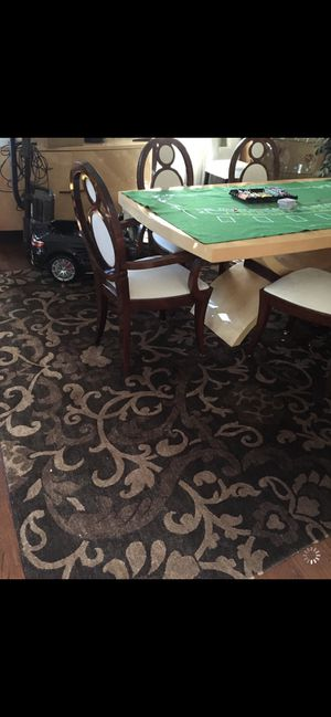 Dining table with chairs for Sale in Newton, MA