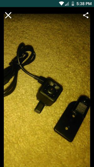 Video Audio micro camera Rechargeable Motion activate Pics. Video and sound for Sale in Raleigh, NC