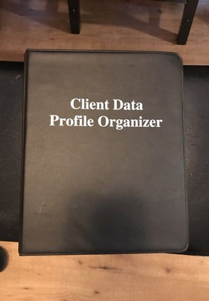 Client data organizer for Sale in Portland, OR