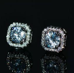 New in box 1Ct White Sapphire Earrings for Sale in Wichita,  KS