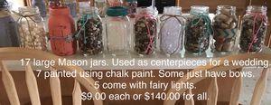 Large Mason jars for Sale in Pekin, IL