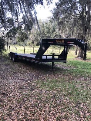 2017 Tiger 24' gooseneck steel deck trailer for Sale in Plant City, FL