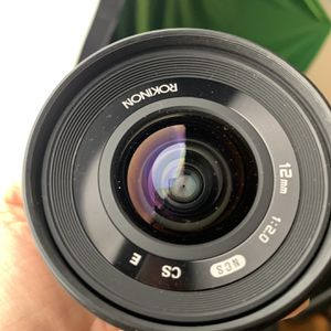 Rokinon 12mm T2.2 Cine Wide Angele Lens for Sale in Los Angeles, CA