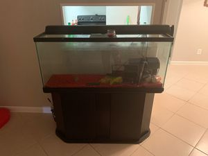 Fish tank 55gal for Sale in Houston, TX