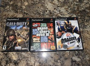 Ps2 games for Sale in Farmerville, LA