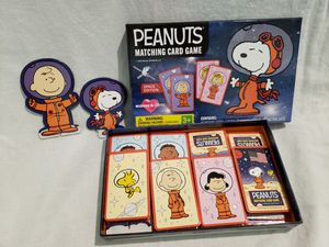 Peanuts Matching Card Game for Sale in Artesia, CA