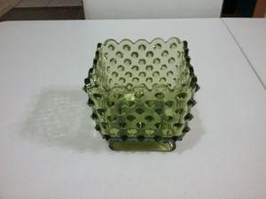 Hobnail green glass square dish for Sale in Glendale, AZ