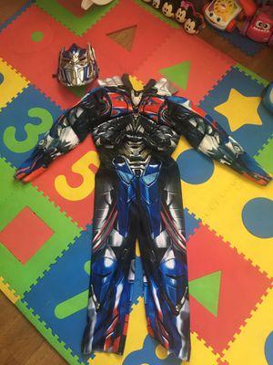 Transformer costume small size 4/6 for Sale in Santee, CA