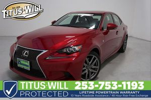 2015 Lexus IS 350 for Sale in Tacoma, WA