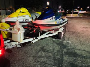 Seadoo jetski jetskis water ready tagged big body 4 seater and 3 seater for Sale in Selma, CA