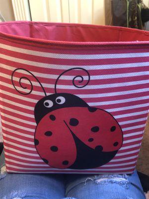 Ladybug bin . for Sale in Starkville, MS