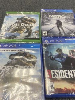 PS4 &xbox Games !!🔥🔥 for Sale in Lakewood,  WA