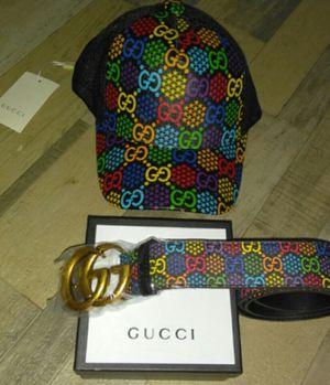 2020 Gucci hat/Gucci belt for Sale in Lanham, MD
