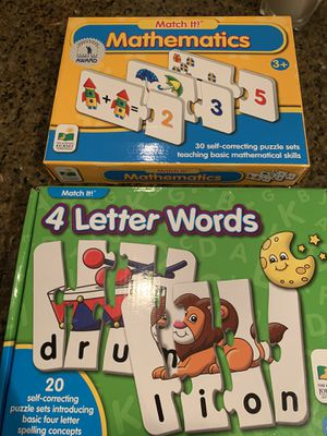 7 awesome puzzles!!! for Sale in Olney, MD