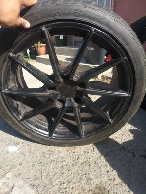 gone ASAP Black 19imch rims for Sale in Fountain Valley, CA