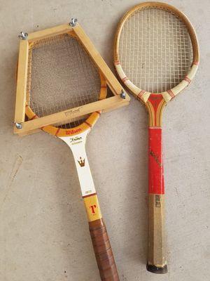 2 old tennis rackets $15 for Sale in Phoenix, AZ