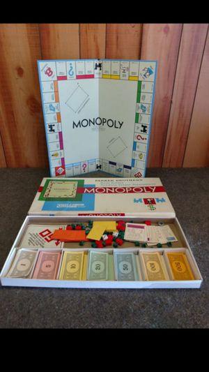 Vintage Monopoly board game for Sale in Phoenix, AZ