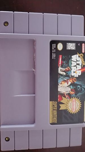 Super Nintendo Star Wars for Sale in San Diego, CA