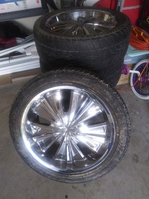 """Used tire and 20"""" Rims for sale for Sale in Copperas Cove, TX"""
