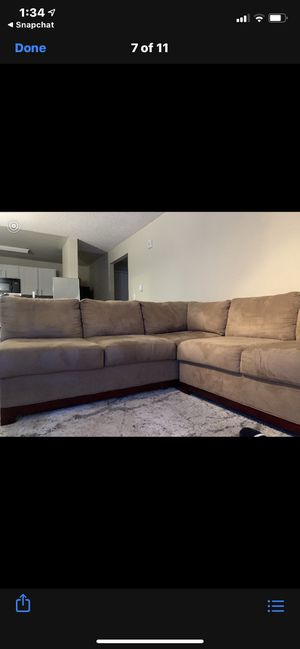Sectional couch for Sale in Cascade-Fairwood, WA