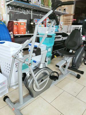 NEW Sunny Health & Fitness Recumbent Exercise Bike: njft sports healthcare for Sale in Burlington, NJ