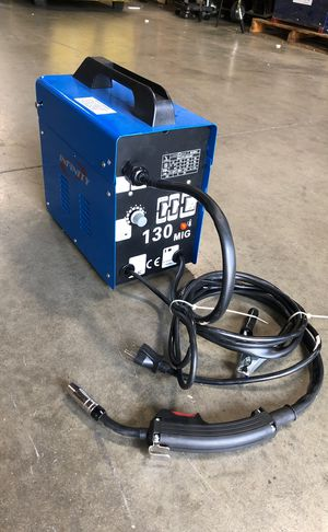 220V MIG flux welding machine auto wire feed welder 120amp new for Sale in La Habra Heights, CA