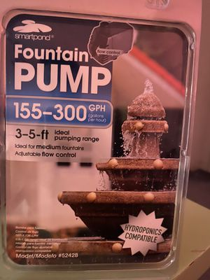 Fountain Pump 155-300 GPH for Sale in Brentwood, CA