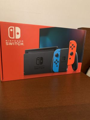 Brand new Nintendo Switch Neon Blue and Red Joycon for Sale in Philadelphia, PA