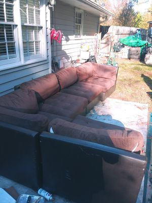 5 sectional couch for Sale in Loganville, GA
