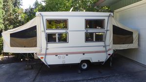 Great Deal! Vintage Unique Hard-Sided Popup Tent Trailer for Sale in Portland, OR