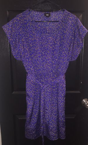 Mossimo Royal Blue & Beige Dress with Pockets for Sale in North Miami, FL