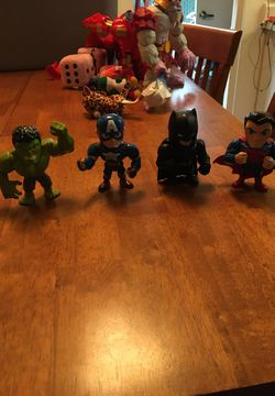 Hulk toy , Captain America toy, Batman toy and Superman toy for Sale in Beaverton,  OR