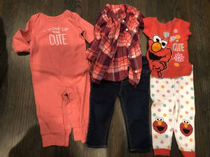 Baby girl clothes size 9 months for Sale in Fairfield, CA