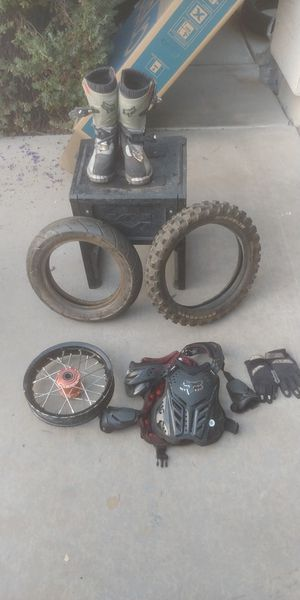 Miscellaneous pit bike parts / gear for Sale in Chandler, AZ