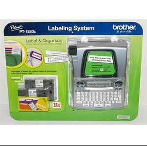 Brother P Touch Labeling Printer PT1880 Label Maker 2 Tape Battery Office Home for Sale in Vista, CA
