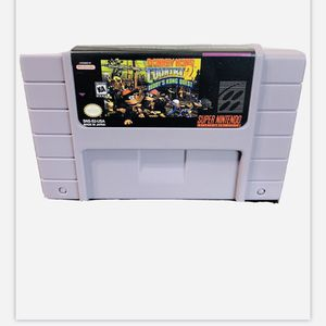DONKEY KONG COUNTRY 2 ! SUPER NINTENDO GAME EXCELLENT WORKING CONDITION ! for Sale in Cerritos, CA