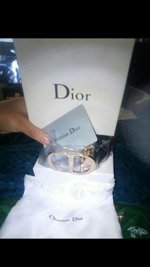 Christian Dior belt for Sale in Hemet, CA