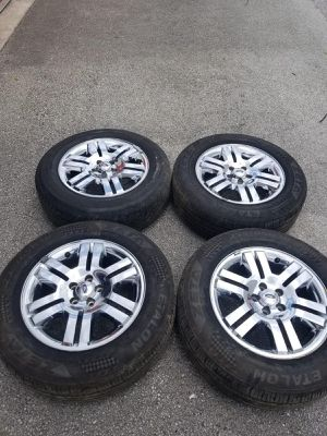 Rims 18 ford 5 lugs 114.3 mm for Sale in Davie, FL